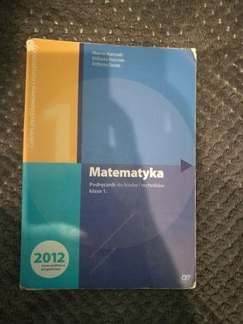 Matematyka, Podręcznik do liceów i techników klasa 1.