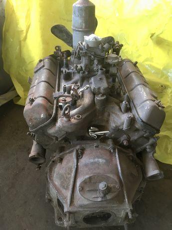 Двигатель ГАЗ-3307 головки блок коленвал