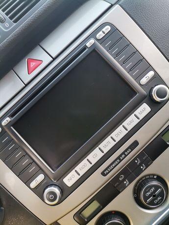 Fabryczne radio passat b6 duży wyświetlacz
