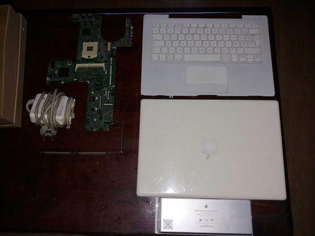 Macbook A1181 na części + Płyta główna Hp Probook 6550b