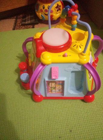 продам игрушку куб для мелкой моторики