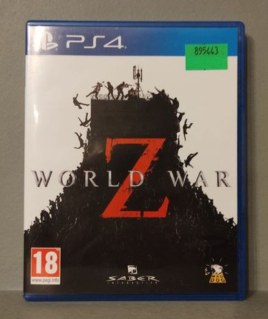 PlayStation 4! World War Z - PL ! PS4 - Polecam OKAZJA