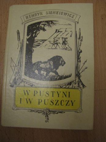 """""""W pustyni i w puszczy"""" Henryk Sienkiewicz"""