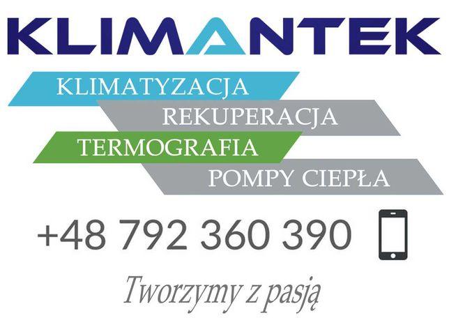 KLIMANTEK - Klimatyzacja - Pompa Ciepła - Rekuperacja - montaż