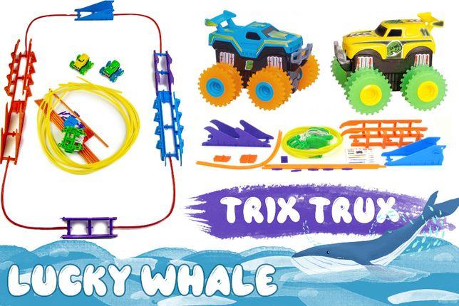 Монстер-Траки (Trix Trux) большой набор на две машинки канатная дорога