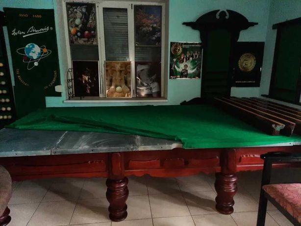 Бильярд. Бильярдный стол бу с комплектом 10,11 и  12 Футов(ардезия 45)