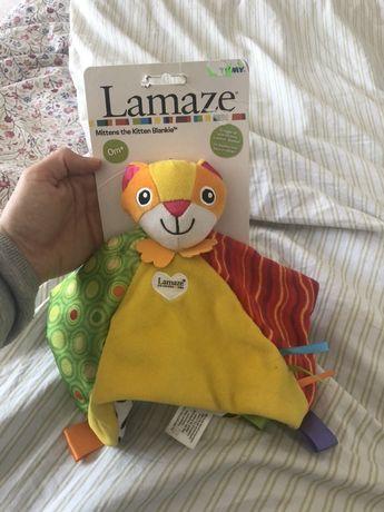 Lamaze przytulanka sensoryczna kot 0m+ NOWA z metka