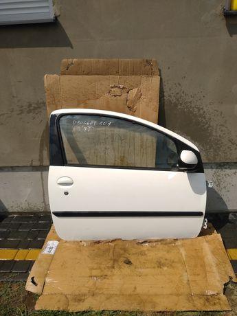 Drzwi przednie prawe prawy przód CITROEN C1 PEUGEOT 107 kompletne 3D