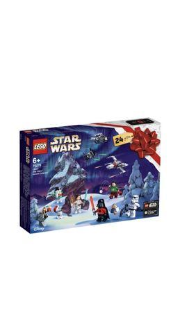 Kalendarz adentowy lego star wars
