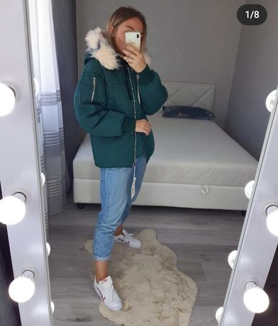 Дуже крута куртка! Стильна і тепла