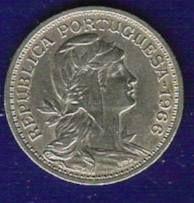 Lote de 15 moedas de 50 centavos Alpaca