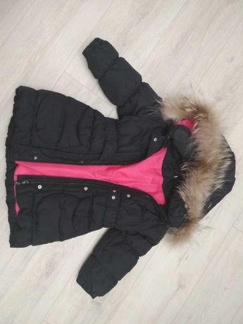 Куртка-пуховик для дівчинки