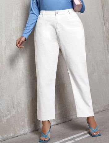 Calças brancas novas