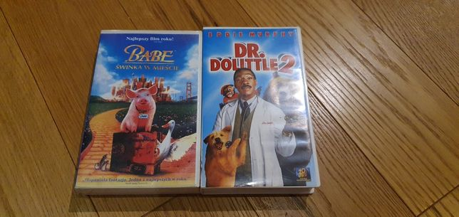 Bajki na kasetach VHS