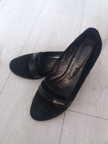"""Туфли натуральний замш """" Лавента """" 38 розмір"""