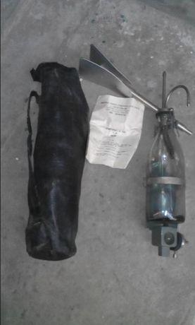 Батометр советский ГР 16 М, пробоотборник вод, бутылка на штанге