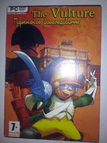"""Игра """"Парижское расследование"""", DVD диск, квест"""