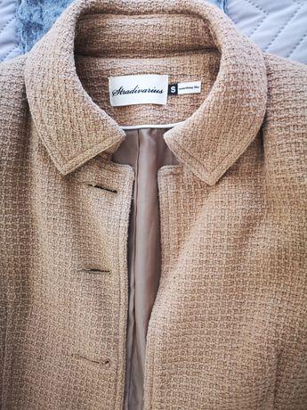 Blazer tweed camel