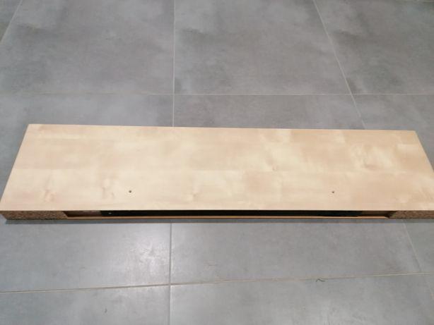 Półka ikea mocowanie 110x26 cm