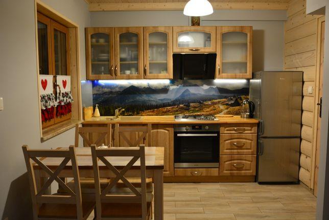 Od 1.09 Góralski drewniany domek komfortowy przytulny