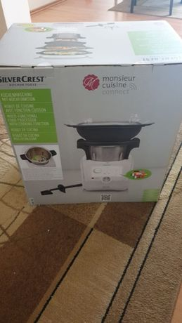 Lidlomix Monsieur Cuisine Connect E5 2021 SILVERCREST robot kuchenny