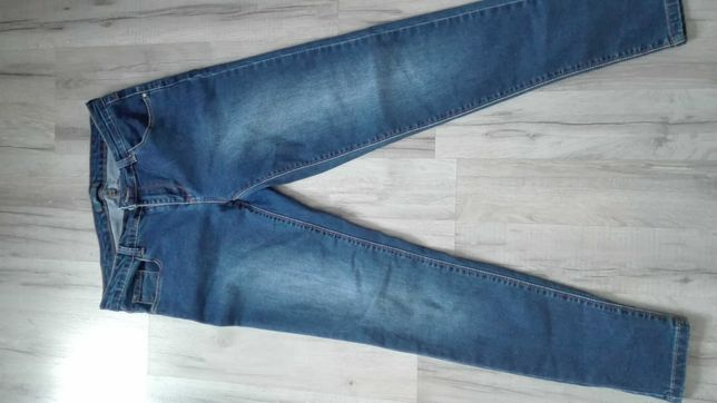 Spodnie damskie ciemny jeans slim cropp 38 M