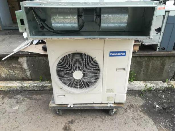 БУ Канальный кондиционер монтаж ремонт Panasonic CS-A24BD3P до 75 м.кв