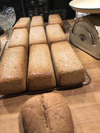 Chleb orkiszowy na zakwasie 100 % mąka orkiszowa pełnoziarnista