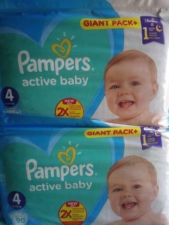 Польські Pampers active baby giant pack 4,3