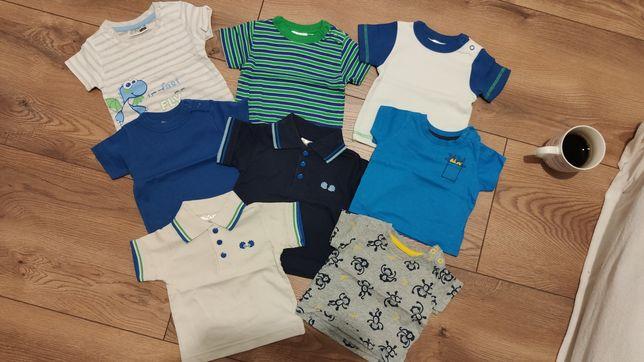 Zestaw t-shirtów rozmiar 56-62