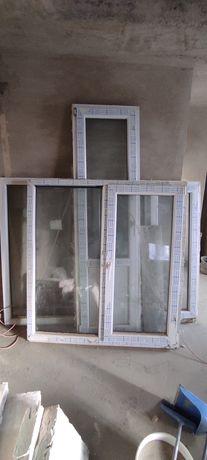 Металопластикові вікна та двері б/у