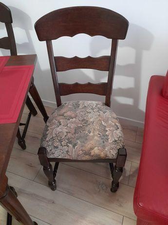 Krzesła dębowe solidne