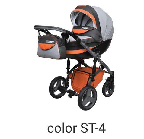Детская универсальная коляска 2 в 1 Angelina Sirius Turbo