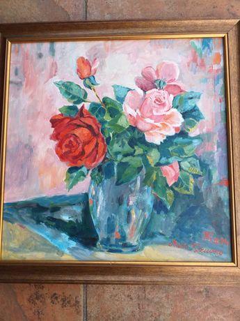 """Obraz ,, Róże nadziei """"."""