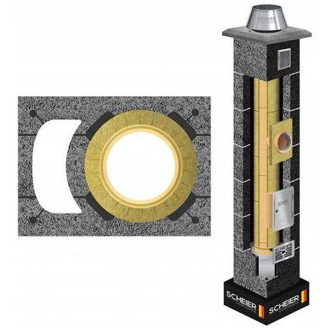 Komin Systemowy 200 + 1 wentylacja 8mb komin kominy systemy