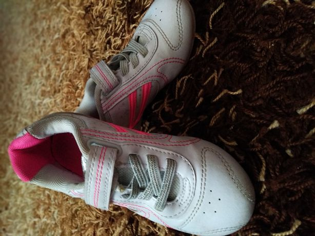 Белые кроссовки в школу 30 р 19.5-20 см в идеале