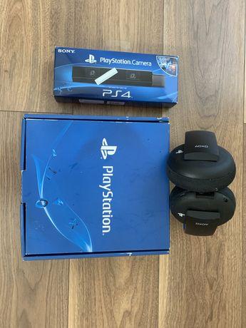 Bezprzewodowe sluchawki 3D i kamera Sony Playstation