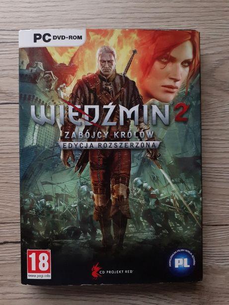 Gra na PC: Wiedźmin II Zabójcy Królów Edycja Rozszerzona