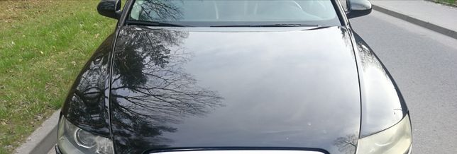 Maska Audi A6 c6 lz9y czarna