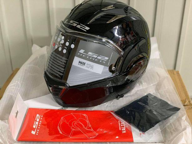 kask motocyklowy LS2 FF900 VALIANT II M S L XL czarny nowy fv wysyłka