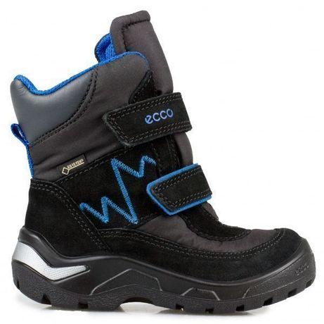 НОВЫЕ Сапожки зимние Ecco р. 22 сапоги ботинки чоботи Екко