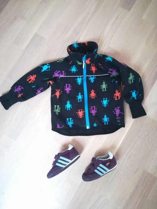 Zestaw buty Adidas 23 i kurtka polarowa Polarn o Pyret 80 - 86 ROBOT Żabia Wola - image 1