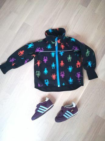 Zestaw buty Adidas 23 i kurtka polarowa Polarn o Pyret 80 - 86 ROBOT