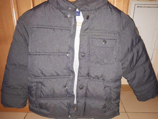 Курточка зимния Chicco на мальчика 6-7 лет