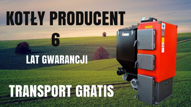 KOTŁY 14 kW do 90m2 Kocioł z PODAJNIKIEM Piec na EKOGROSZEK 11 12 13