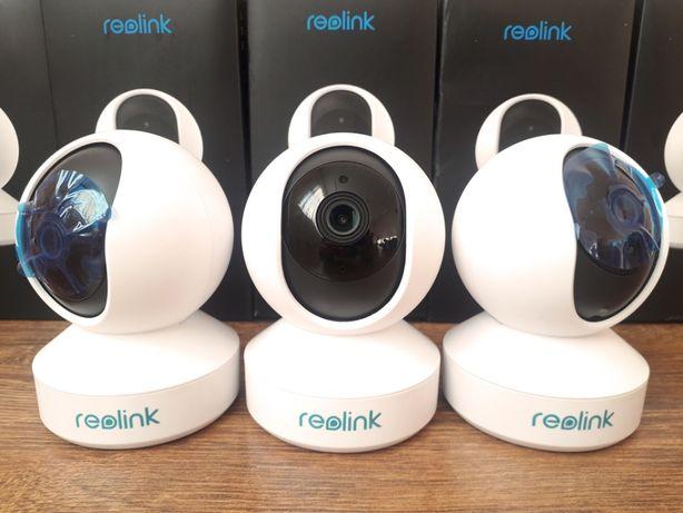 Камера Reolink E1 WiFi, 3MP поворотная видеоняня, европейская версия