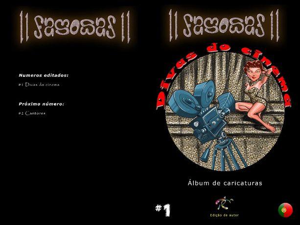 11 Famosas Divas do Cinema - A arte da caricatura!