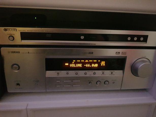 Yamaha RX V357 zestaw kina domowego +dvd