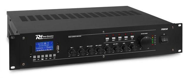 Wzmacniacz instalacyjny z mikserem 100V 240W PD PRM240