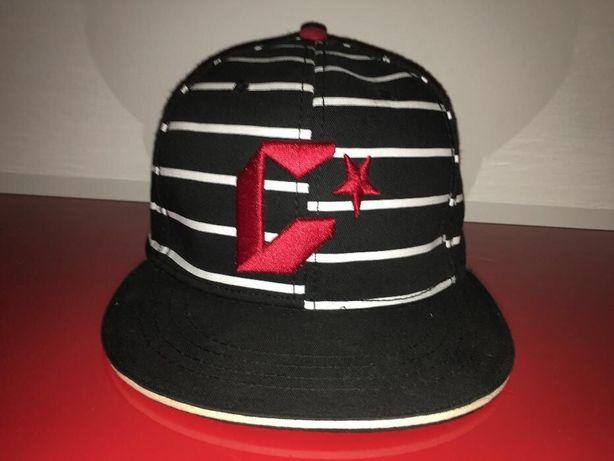 Croop czapka z daszkiem skate full cap rozm L w paski fullcap snapback